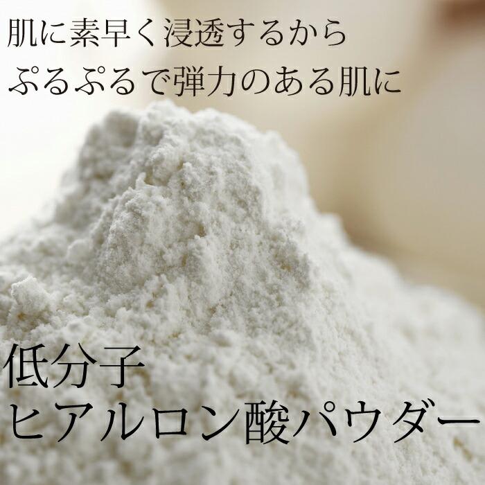 化粧品原料専門店 低分子 ヒアルロン酸ナトリウムパウダー (5g)