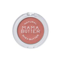 アウトレット品 新品 MAMABUTTER 最安値 ママバター メーカー直販サイト シアバターを配合した ピンク 5g スキンケア感覚のナチュラルチークカラー チークカラー