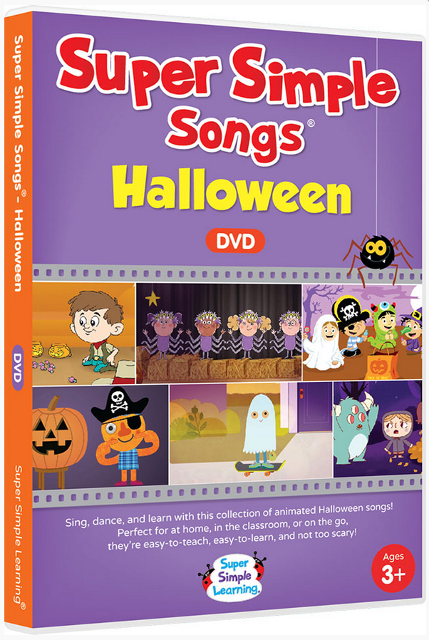the super simple songs supermarket shin pull songs halloween halloween dvd cognitive education teaching materials english dvd english teaching materials