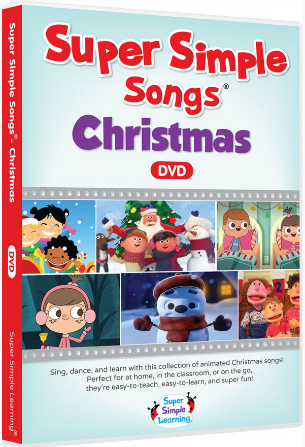 the super simple songs supermarket shin pull songs christmas christmas dvd cognitive education teaching materials english dvd english teaching materials - Super Simple Christmas Songs