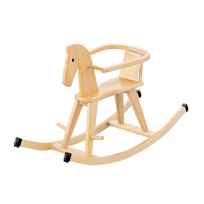 Toy / vehicle of the ボーネルンド (BorneLund) Goi tercompany rocking hose wooden / wooden horse / tree