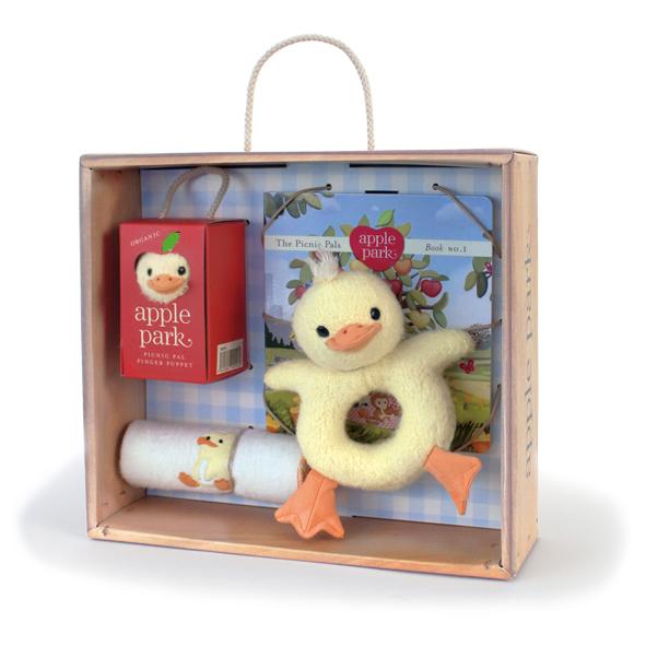 apple park(苹果公园)婴儿礼品盒安排鸭子
