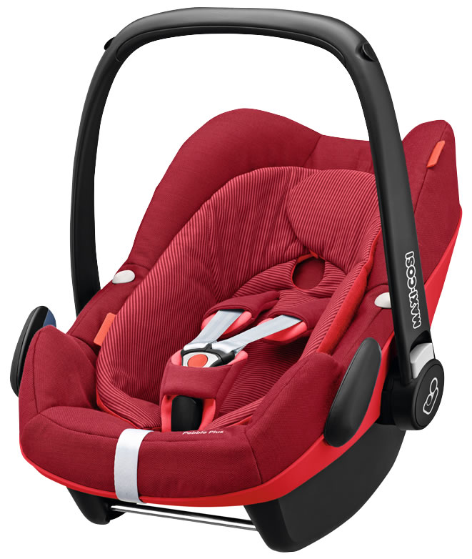 Maxi waist pebble plus (Maxi-Cosi Pebble Plus) car seat Robin red