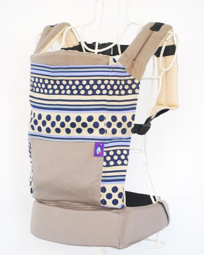 Kappie CAPPY baby carry dot stripe cuddle string baby carrier Baba sling pattern