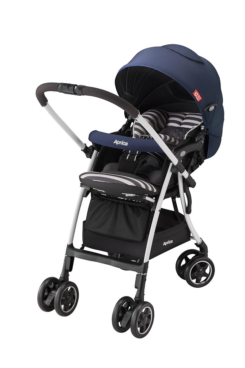 Aprica(提高再蚊子)rakuna AD RAS深蓝NV婴儿车A型婴儿车