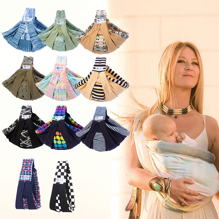 【正規品】【1年保証】【送料無料】【ラッピング無料】 ババスリング ベビースリング パターン [最新モデル][新生児][正規品] [1年保証] 抱っこひも pattern babaslings【あす楽対応】