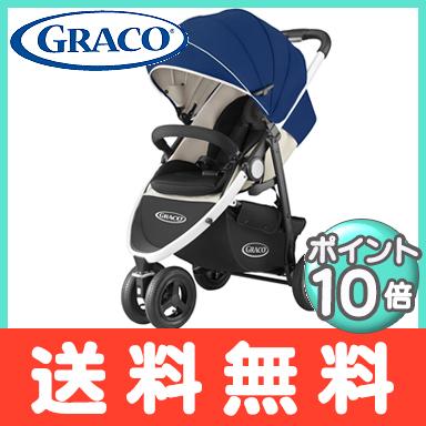 GRACO(格列柯)城市旅行深藍嬰兒車3輪bebikabagi