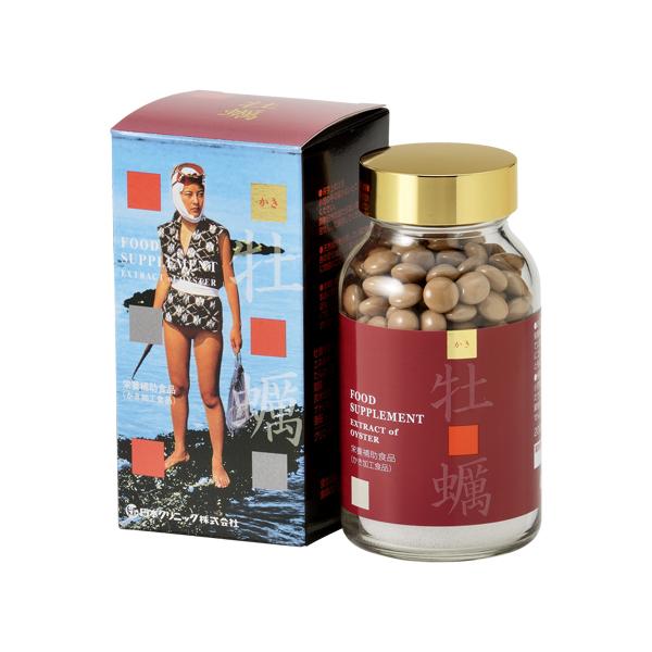 【日本クリニック】牡蠣 600粒 【送料無料】