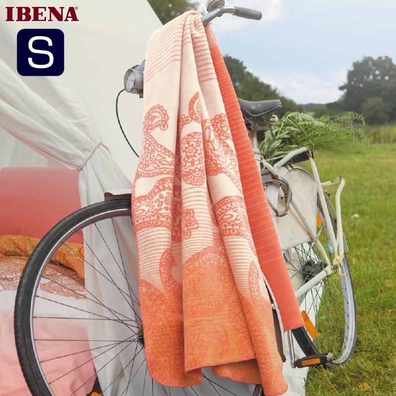 綿混毛布:綿60%アクリル40%シングルサイズ:商品重量1,250g数量限定・直輸入・軽量毛布ドイツ・IBENAブランケットシリーズs.oliver Art.717 Col.250