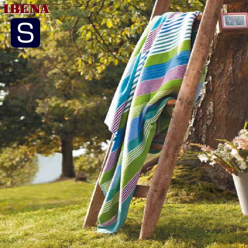 綿混毛布:綿60%:アクリル40%シングルサイズ:商品重量1,250g数量限定・直輸入・軽量毛布ドイツ・IBENAブランケットシリーズs.Oliver Art.893Col.150