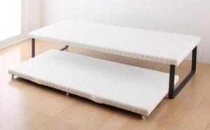 狭いスペースに2台ベッドが置けることで人気の親子ベッド 安い 激安 プチプラ 高品質 親子ベッド BeneChic 今ダケ送料無料 ベーネチック ベッドフレーム のみ 上下段セット 簡易ベッド ベッド下収納 通気性 子供部屋 500026983 ベッド シングル
