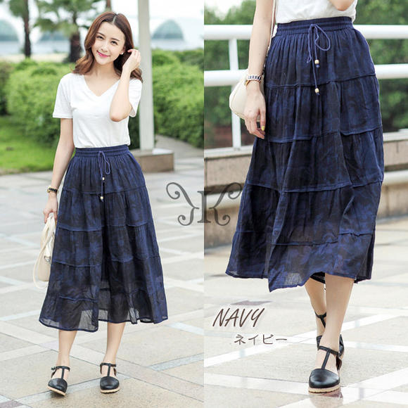 naturalbodymaking | Rakuten Global Market: Length Maxi skirt ...