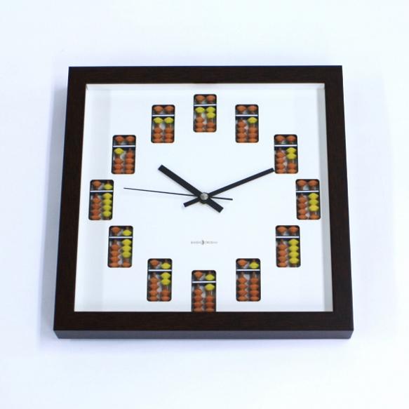 時計 壁掛け とけい そろクログレート SOK-150 ダイイチ ( 播州そろばん )
