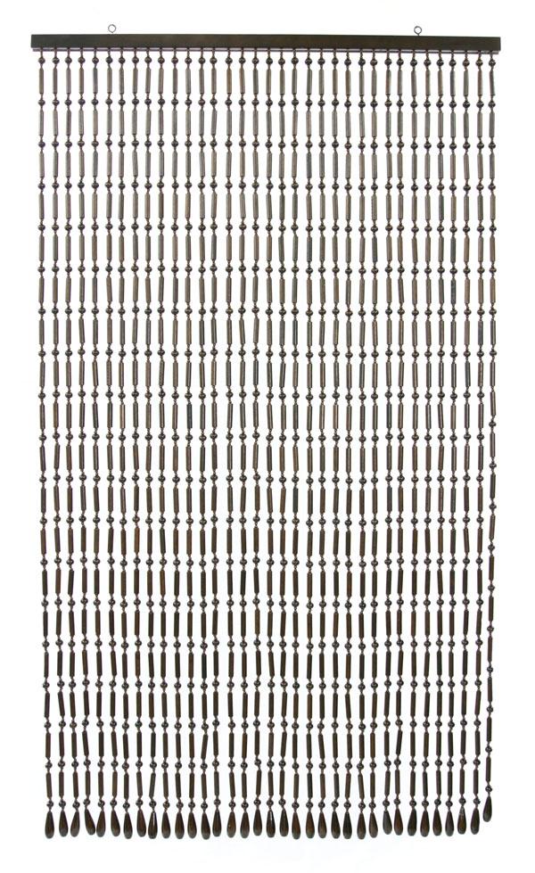 昭和レトロの一品!手作り国産 SSー150 木珠のれん!シンプルロングタイプ【kdsm】【kb】送料無料!