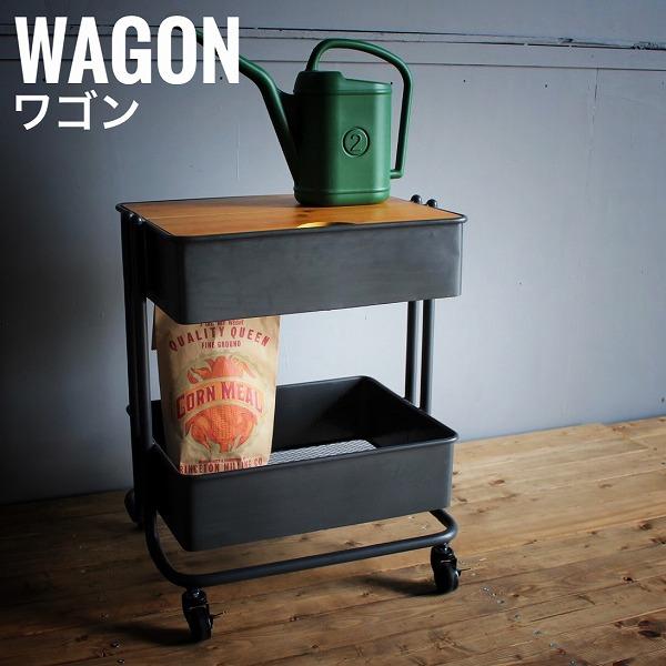 Norue ノルエ ワゴン サイドテーブル 収納家具 キッチン収納 天然木 アイアン ブラック アメリカン 西海岸 おしゃれ[送料無料]北海道 沖縄 離島は別途運賃がかかります