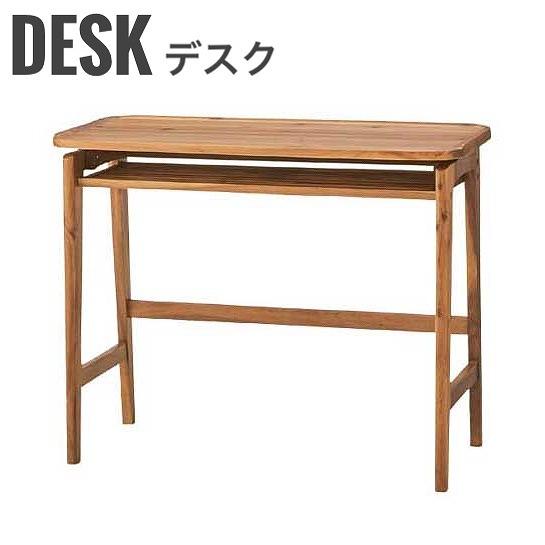 PCデスク 作業デスク 棚付き 北欧 アカシア 椅子 ナチュラル 天然木 木製 Volt デスク ヴォルト セール商品 おしゃれ 迅速な対応で商品をお届け致します