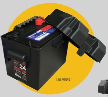 収納ボックス付き サイクルバッテリー GM社 ACデルコ ボイジャー M27MF[正規品/セール中]