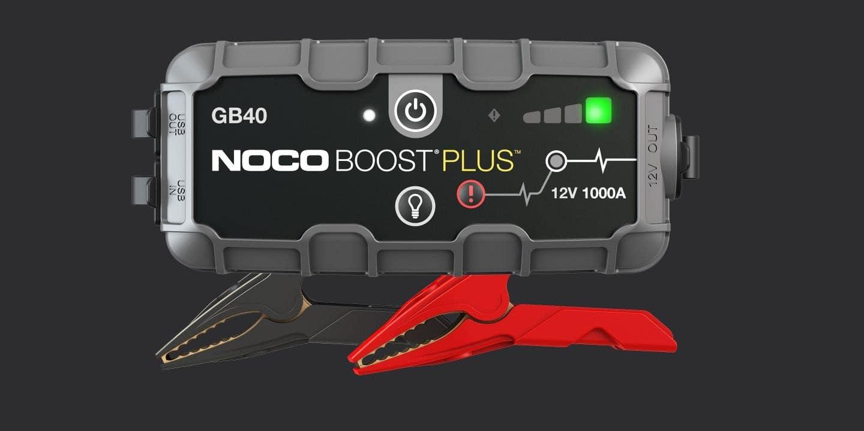 新作からSALEアイテム等お得な商品 満載 抜群のパワーで 大型車 アメ車 キッチンカー キャンピングカー 特殊車両まで 初売り IP65 バッテリー ジャンプスターター NOCO GB40 日本語の説明書付き 鉛電池用 正規品 BOOST リチウムイオン電池内蔵 12V genius