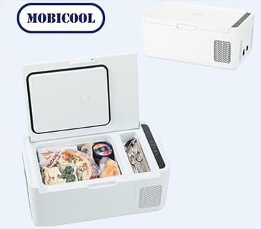 クーラーボックス DOMETIC ドメティック DM-MCG15 WH (DC12V,DC24V,AC100V) 内容積:14.5L 冷蔵庫[正規品/日本語の説明書付き/無料保証2年(電池を除く)]