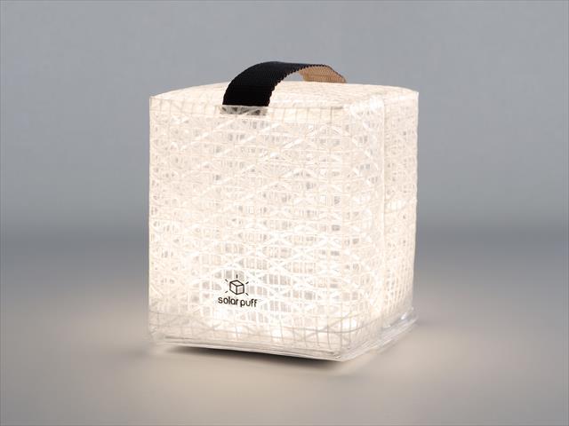 【5個セット】 ソーラーパフ クールブライト solar puff cool bright (白色LEDライト)[正規ルート品][日本語取扱説明書] *メール便対応