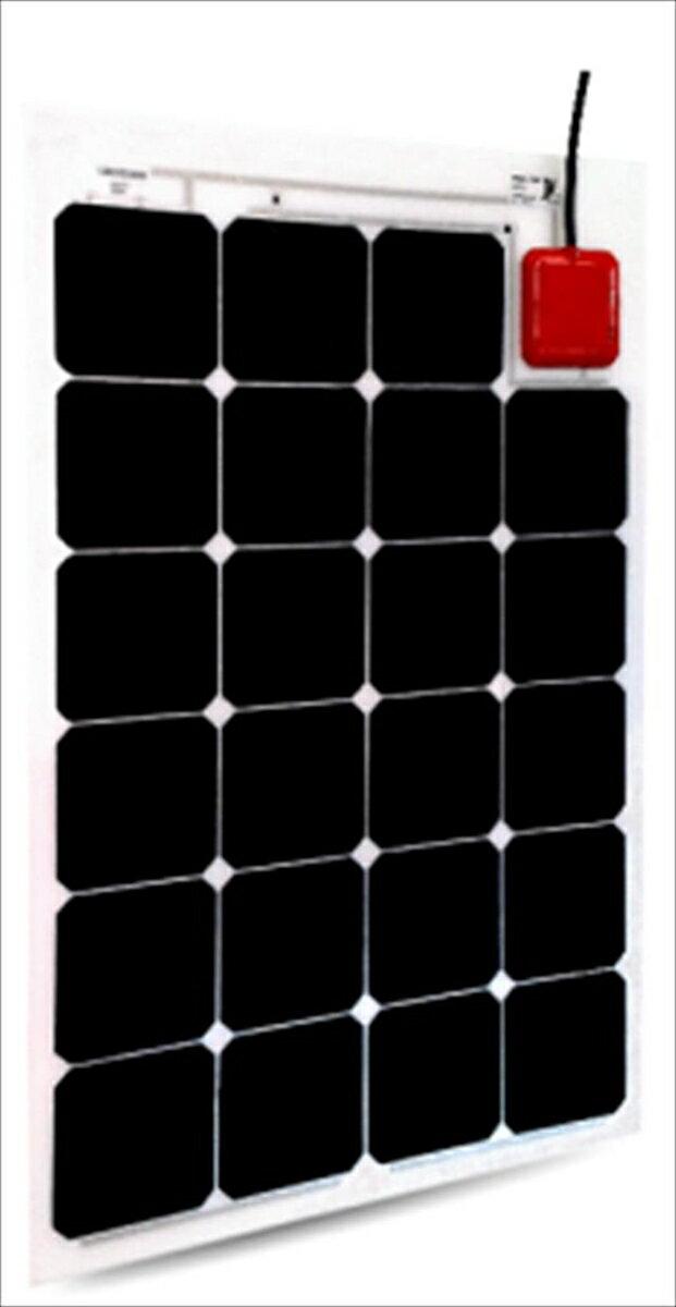 フレキシブル ソーラーパネル (MPPT充電器付) Solbian Flex 72W 12V用 SP72AIO[正規品/日本語の説明書付き/無料保証2年(電池を除く)]