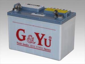 ディープサイクル バッテリー 開放型 G&Yu EB-65G・テーパー型[正規品/セール中]