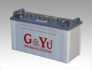 システム電圧12V 容量100Ah 在庫一掃 5h アウトドア 防災 非常用 キャンピングカー 車 船 ディープサイクル バッテリー 正規品 入荷予定 EB-100G GYu 2個セット L型 × セール中 開放型