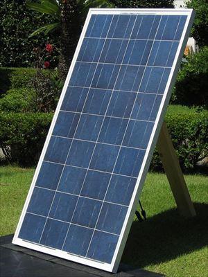 多結晶 ソーラーパネル 120W - 12V / y-solar[正規ルート品][日本語取扱説明書]