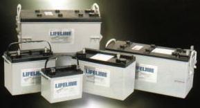 AGM サイクルバッテリ― LIFELINE GPL-24T[正規ルート品][日本語取扱説明書]