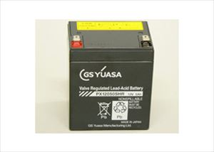正規品 多くのメーカー純正品として採用されています 高率放電タイプ UPSなどの短時間放電用途に威力を発揮します 蓄電池設備型式認定品 消防法用途への使用認定品 バッテリー PX12050SHR GS YUASA F2 セール中 保証 メーカー直売