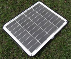 フレキシブル 球状シリコン 太陽電池 12V 29W ( CVFM-0290T1-WH )[正規ルート品][日本語取扱説明書]