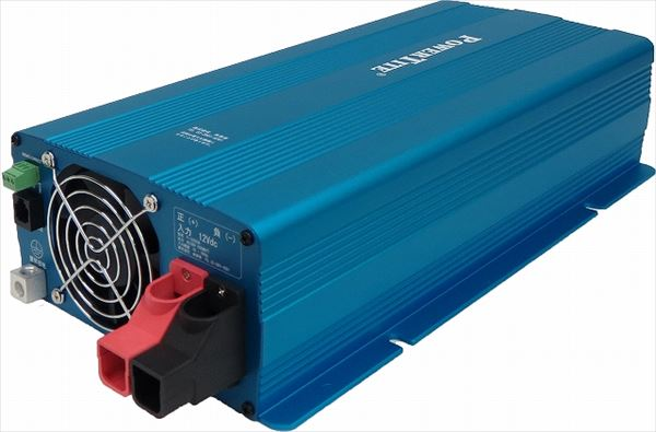 DC->ACインバータ 正弦波 Power Tite 未来舎 FI-S1503A-12VDC 1500WATT[正規ルート品][日本語取扱説明書]