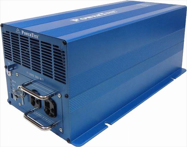 DC->ACインバータ 正弦波 Power Tite 未来舎 FI-S3003-12VDC 3000WATT[正規品/日本語の説明書付き/無料保証2年(電池を除く)]