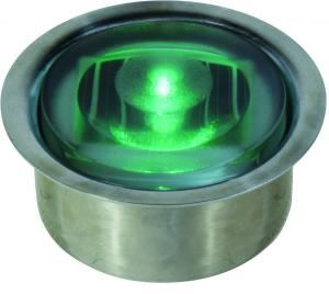 ソーラー LED グランドフラッシャー 点滅スロー・緑 / GF-S-S-G[正規品/日本語の説明書付き/2万円以上で配達無料!/無料保証2年(電池を除く)]