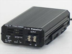 バッテリー充電器 / POWER TITE 未来舎 CH-1205[正規品/日本語の説明書付き/無料保証2年(電池を除く)]