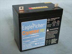 ディープサイクルバッテリー イーグルピッチャー CF-12V 60SDC[正規品/セール中]