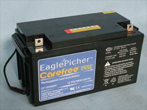 ディープサイクルバッテリー イーグルピッチャー CF-12V 65DC[正規ルート品][日本語取扱説明書]