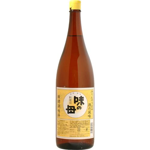 ■味の一醸造■ 味の母(みりん風 醗酵調味料)1.8L×1ケース(6本入)【箱入り】