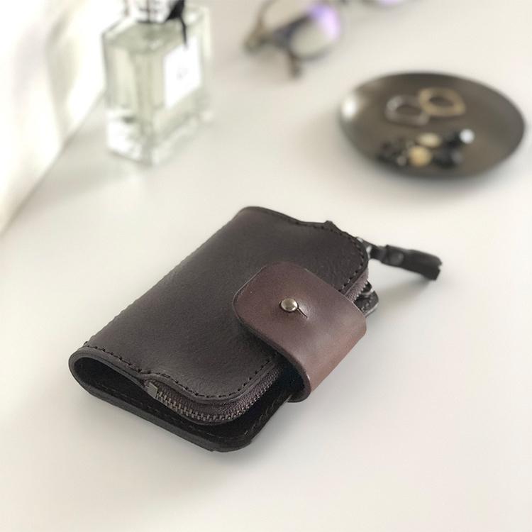 【父の日】violette イタリアンレザー キーケース 父の日 普段使い 実用的 ギフト コインケース付き