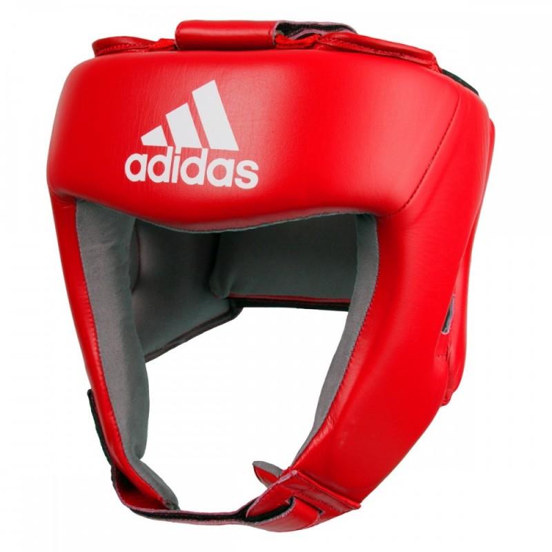 セール!★送料無料★アディダス(adidas) AIBA公認ヘッドギア(検定シールなし 最高級カーフスキン(本革)