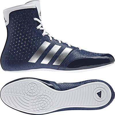送料無料!!アディダス(adidas) KO レジェンド 16.2 ボクシングシューズ BA9077 (ネイビー)