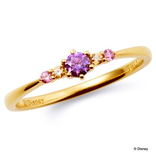母の日 プレゼント 花以外 ギフト THE KISS ディズニー コレクション リング シルバー 塔の上のラプンツェル ラプンツェル プリンセス レディース ザ・キッス 指輪 誕生日 記念日
