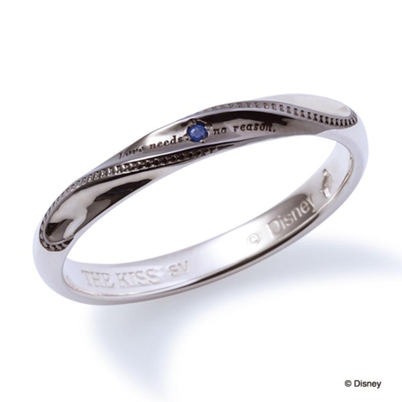 母の日 プレゼント 花以外 ギフト THE KISS ディズニー コレクション ペアリング シルバー リング ドナルド メンズ ペア ハート シェアハート 隠れドナルド 隠れデイジー ザ・キッス お揃い 指輪 誕生日 記念日 メンズ 結婚指輪 刻印可能
