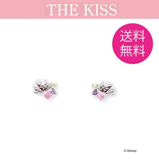 THE KISS ディズニー コレクション ピアス K10 リトルマーメイド アリエル プリンセス レディース 貝殻 10金 10金ピアス ザ・キッス 誕生日 記念日