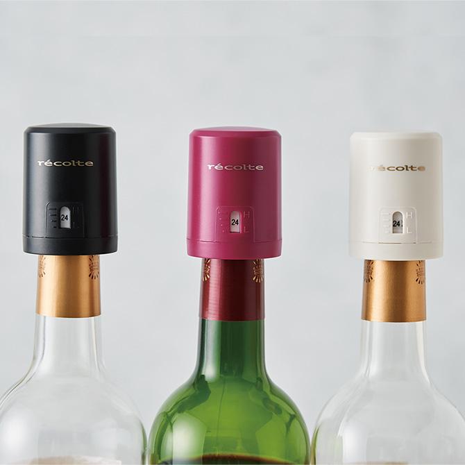 プチギフトにも 日付マーカー付きのシンプルなワインキーパー 驚きの値段 超人気 クーポン対象外 recolte レコルト イージーワインキーパー ワインキーパー おしゃれ プレゼント 栓 ギフト ワイン キャップ 日付 簡単 シンプル