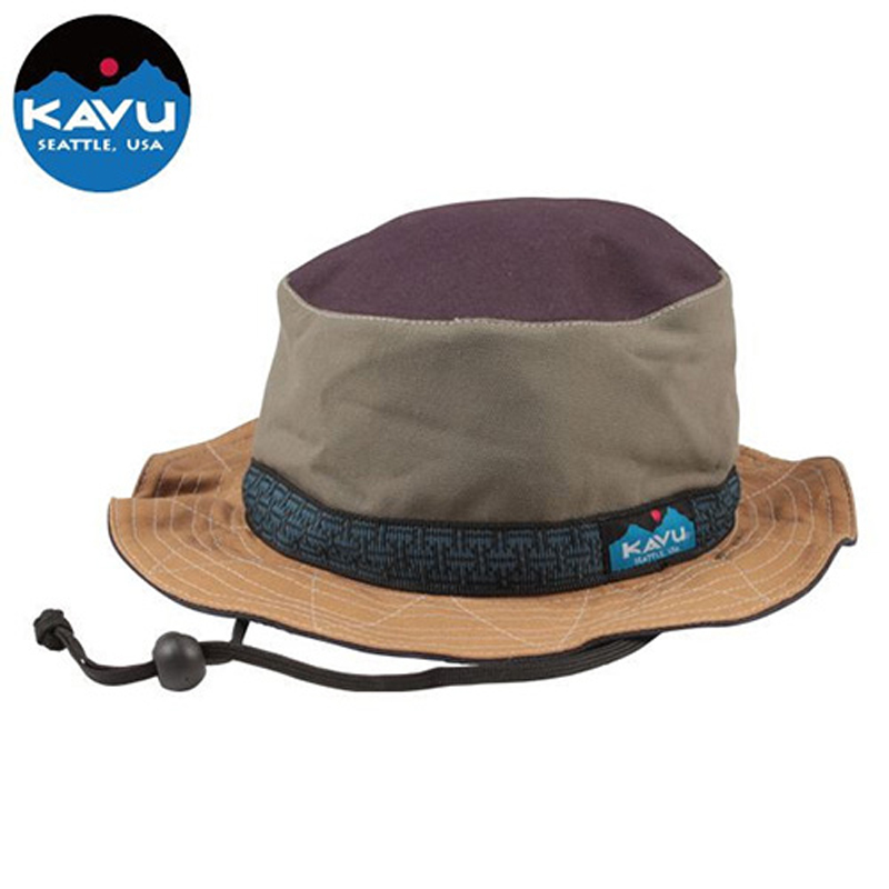 KAVU(カブー) Strap Bucket Hat(ストラップ バケット ハット) S Ugly 11863452800003