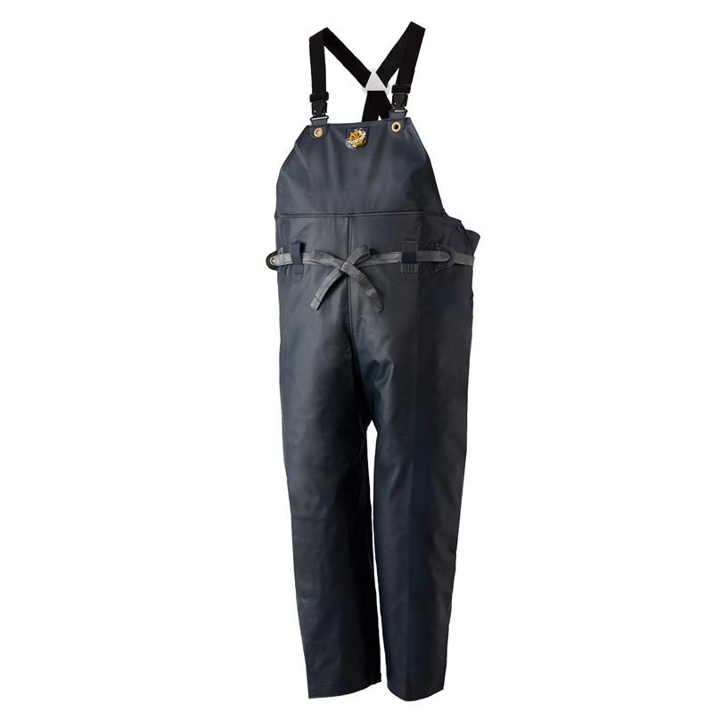 ロゴス(LOGOS) クレモナ水産胸当て付ズボン サスペンダー式 1号 鉄紺 10062181