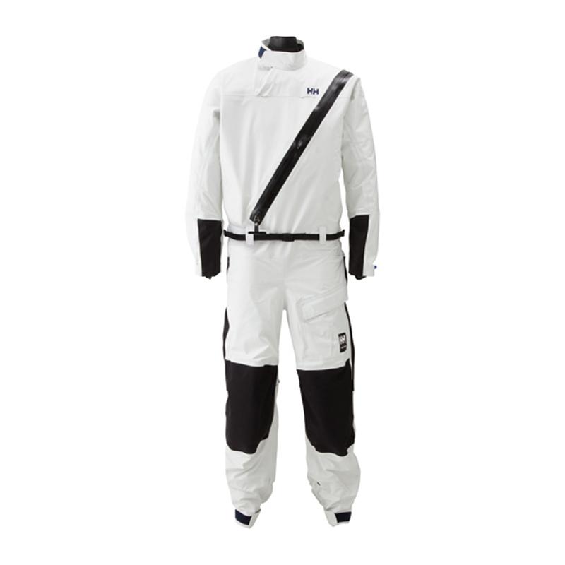 HELLY HANSEN(ヘリーハンセン) DRY SUIT(ドライスーツ) Men's XL W(ホワイト) HH11655