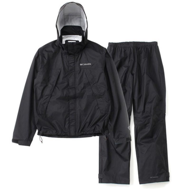 Columbia(コロンビア) Simpson Sanctuary Rainsuit(シンプソン サンクチュアリ レインスーツ) XL 010(BLACK) PM0124