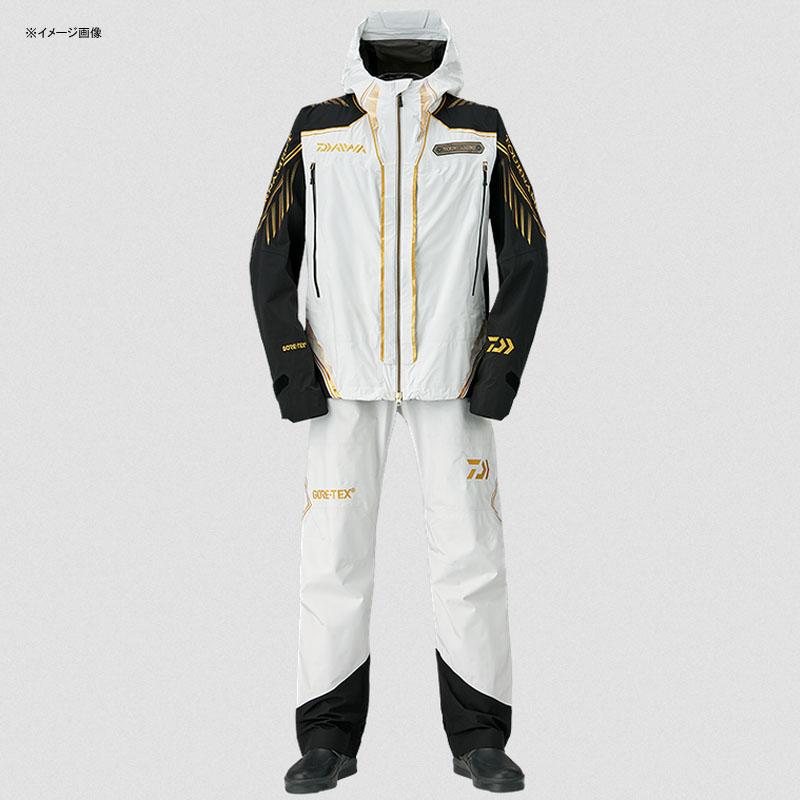 ダイワ(Daiwa) DR-1008T トーナメント ゴアテックス パックライト レインスーツ 2XL ライトグレー 08350099
